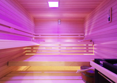 Entspannungs- und Saunabereich