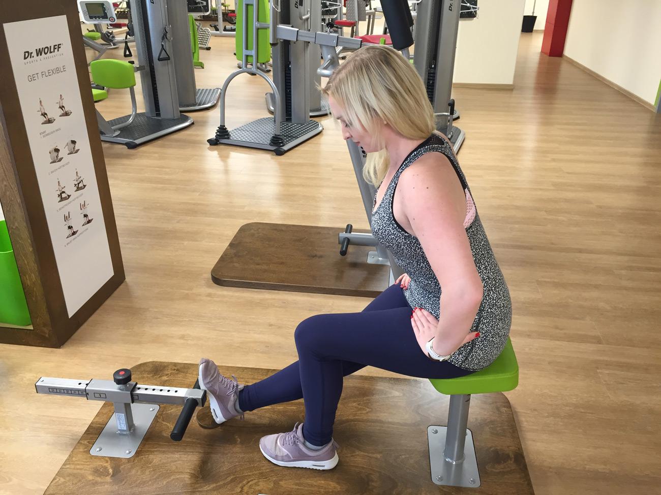 Dr. Wolff Get flexibe Beweglichkeitszirkel